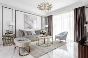 水木清华园113㎡现代简约风格三居室