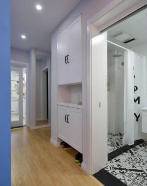自由自宅50㎡两房北欧家装效果图