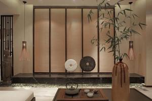华庭装饰160平米禅意中式风格效果图