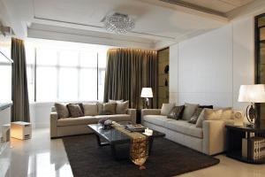 联发瞰青新古典风格四居室装修