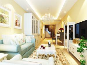 融园现代简约风格二居装修效果图