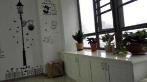樱花小区现代简约风格三居家装效果图
