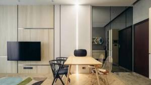 66平现代混搭二居   家装效果图