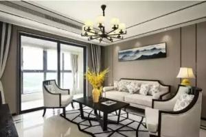 佳苑新城新中式三居家装效果图