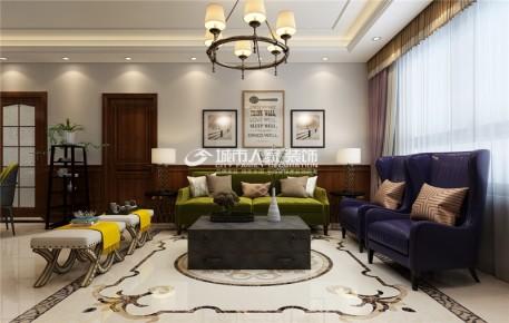 中正锦城132平米简美风格