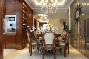 中正锦城180㎡欧式风格