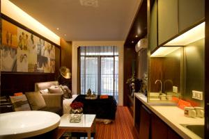 单身公寓55㎡现代简约风