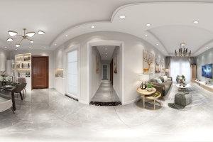 金域豪庭80㎡现代简约风格二居室