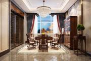 黄金水岸-金榔湾340㎡新中式风格