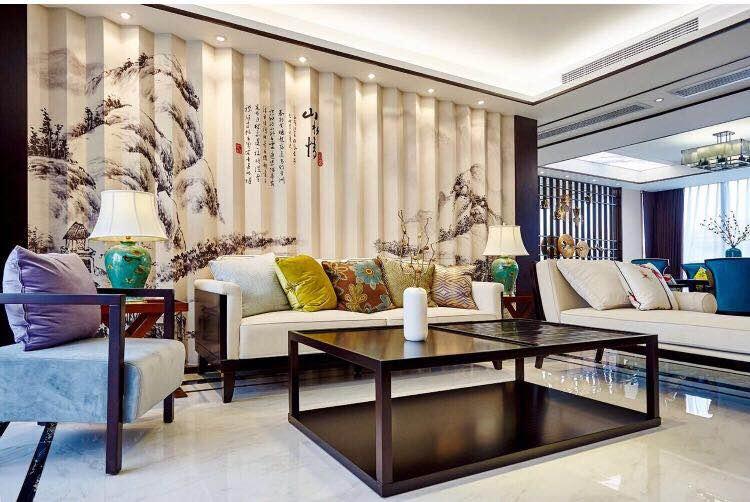 辉煌家园  190平米 中式风格