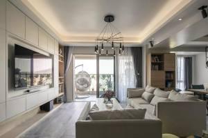 165㎡简约舒适现代家装设计方案