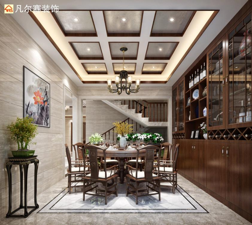 东湖林语480方新中式别墅