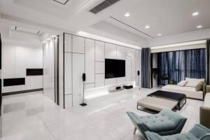 230㎡港式低奢私人住宅家装设计方案