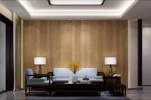 素雅大气的新中式设计风格家装设计方案