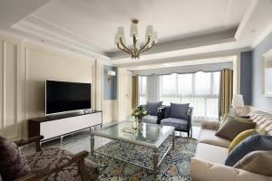 170平方米优雅蓝调家装设计方案
