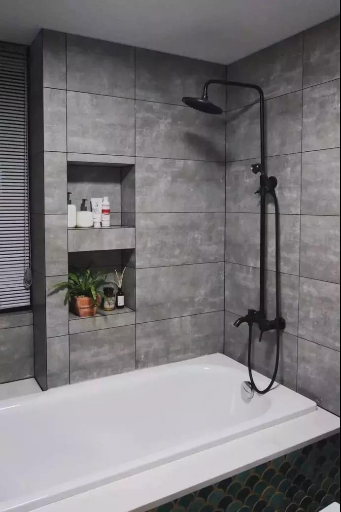拯救小户型的卫生间,墙上1㎡是关键