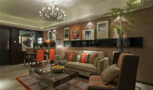 世茂首府95㎡两居室欧式风格
