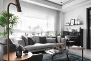 【维享家装饰】黑白灰的精致三居室