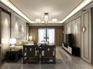 中海134平米新中式设计风格
