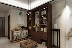 博林天瑞95m²新中式风格