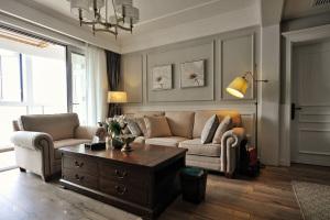 【维享家装饰】112平三居室 美式风格家