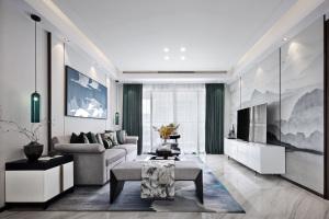 【维享家装饰】200平四居室新中式风格家