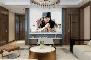 富力八号园147㎡现代轻奢风格