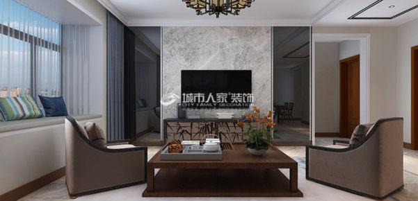 华峪东区130㎡中式