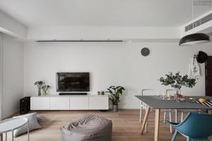 【维享家装饰】89平三居室北欧风格家