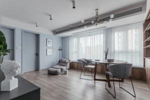 【维享家装饰】95平三居室北欧风格新家