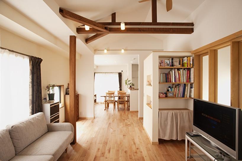 87平方米三房一厅日式自然装修