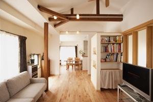 87平方米三房一廳日式自然裝修