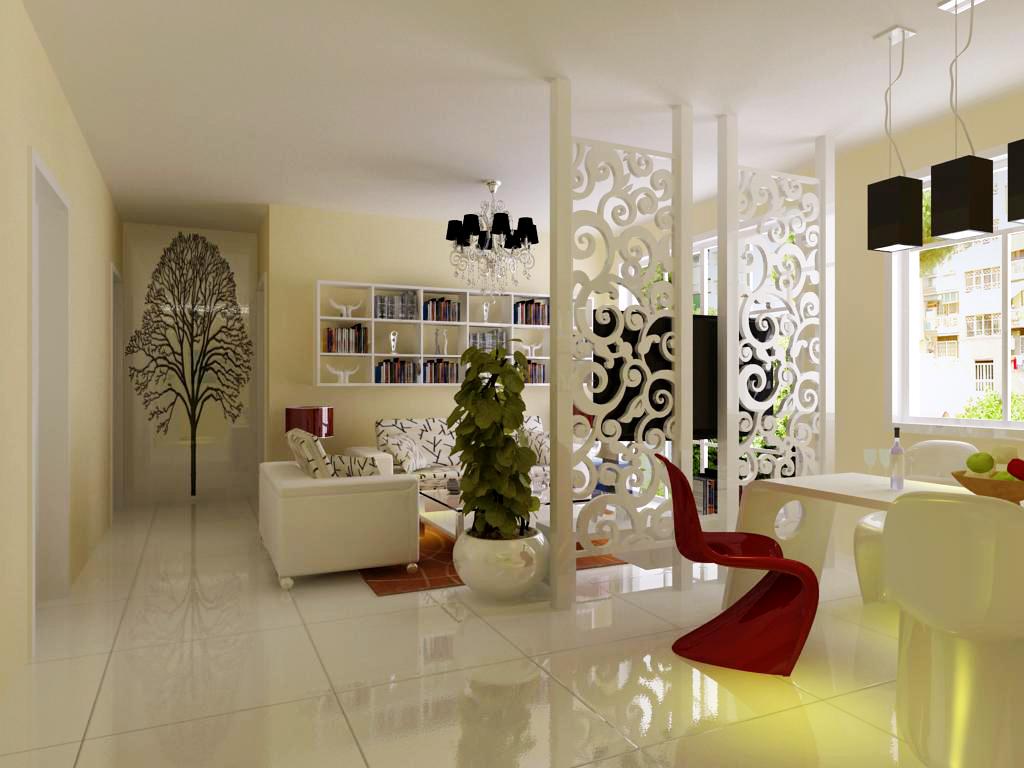 现代风格两居室