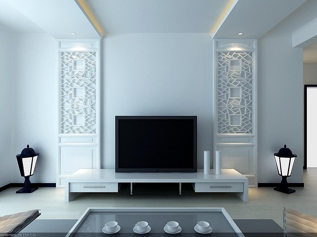 现代简约风格两室